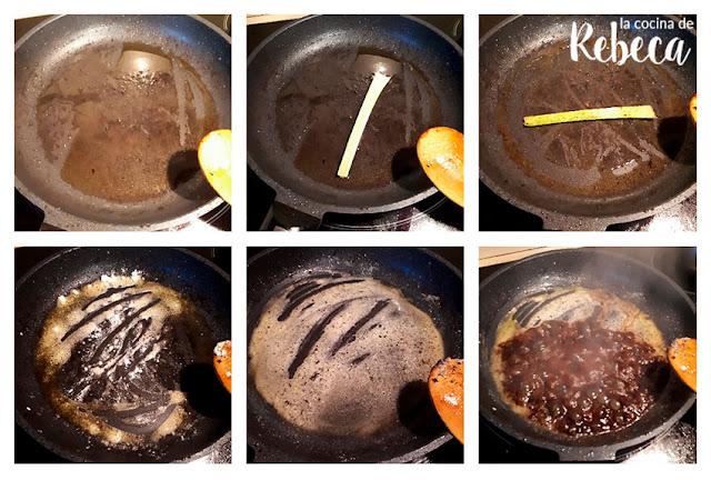 Receta de ternera con pimientos al estilo oriental: la salsa (I)