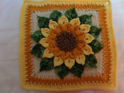 Crochet Sunflowers Pattern free