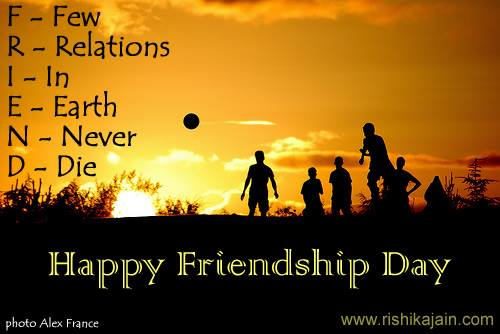 Happy Friendship Day for boyfriend