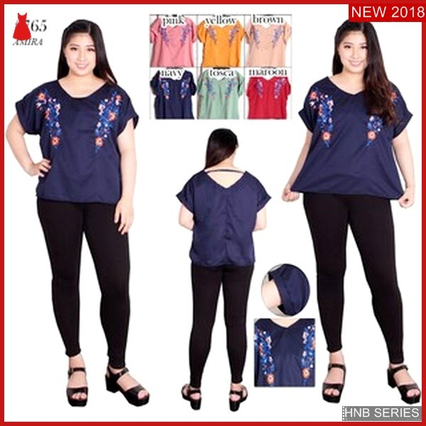 HNB166 Model Kelly Jumpsuit Ukuran Besar Jumbo Modis BMG Shop