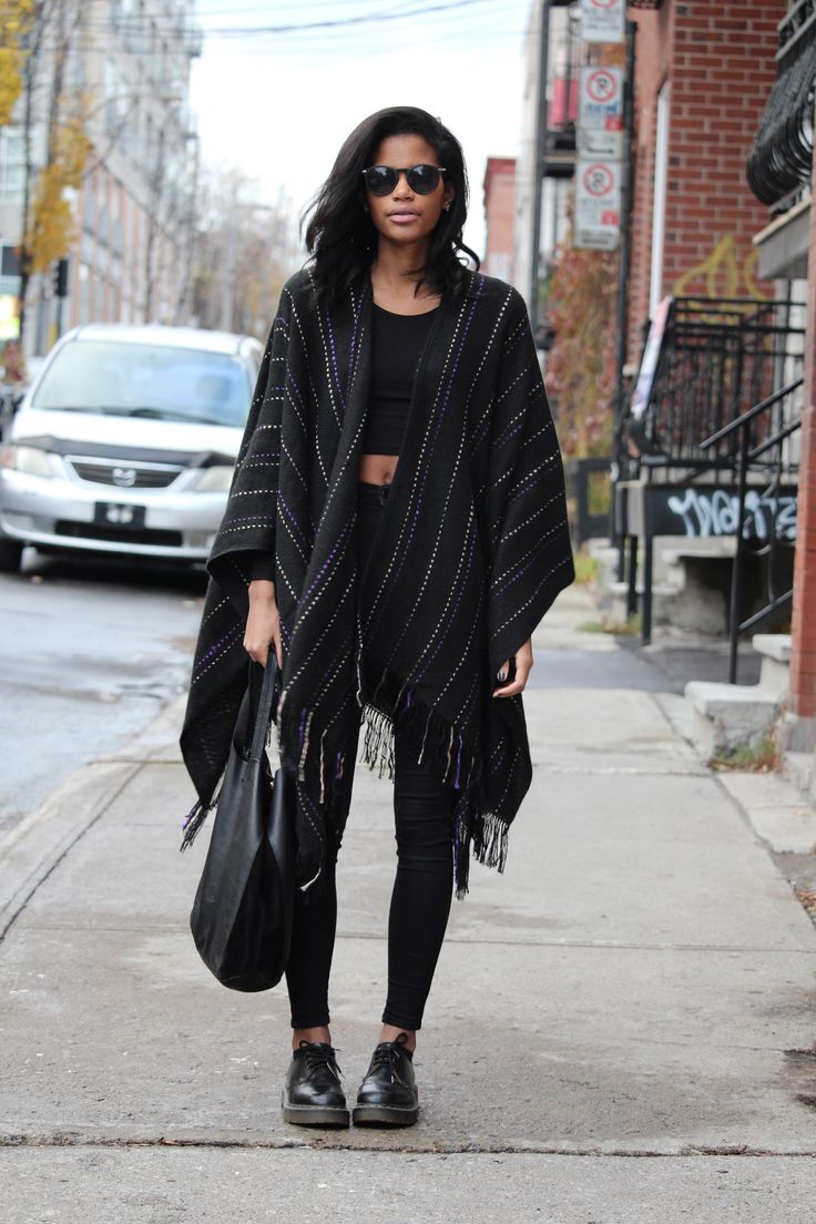 Babes In Velvet - All Black Fall Outfit