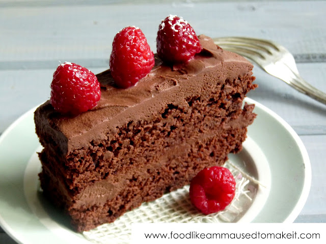 Easy Eggless Chocolate Cake Recipe Food Like Amma Used To Make It