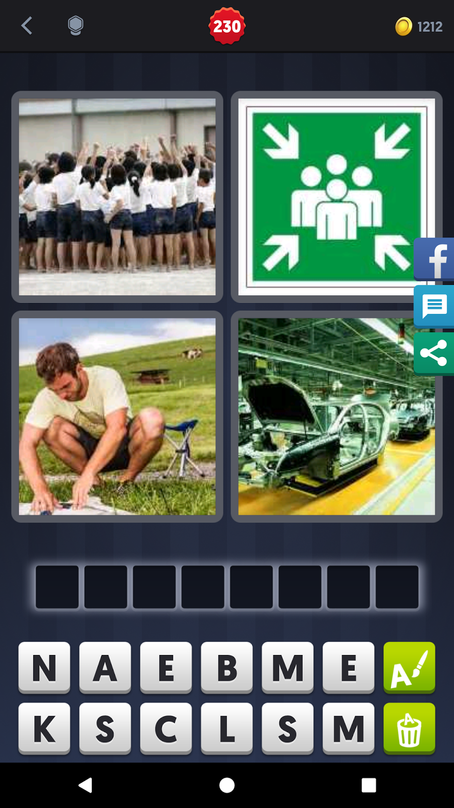 4 Pics 1 Word Answers Solutions Level 230 Assemble