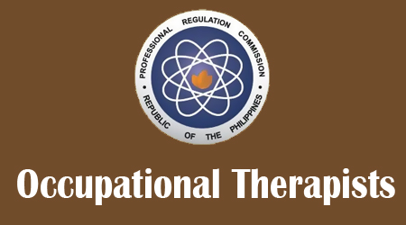 August 2013 Occupational Therapists Board Exam Results