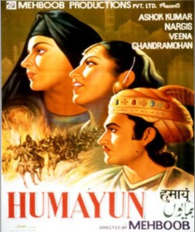 Poster Of Hindi Movie Humayun (1945) Free Download Full New Hindi Movie Watch Online At worldfree4u.com