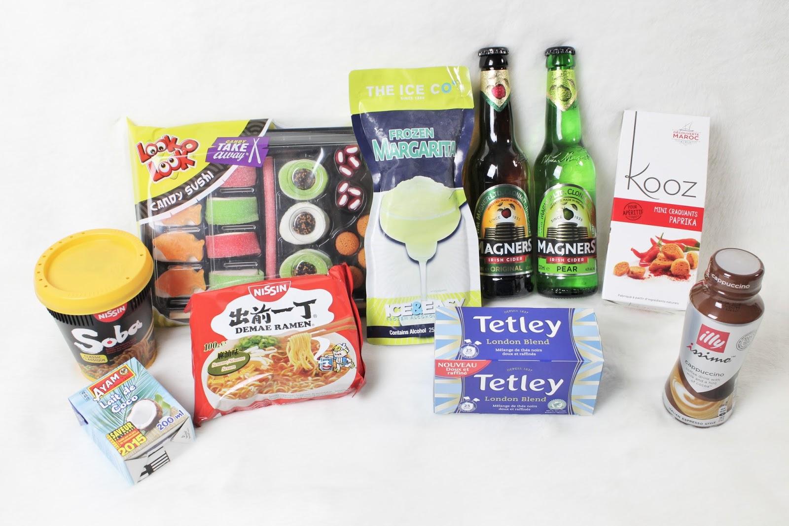 degustabox box food fevrier 2016 code promo bon plan reduc parrainage offert parrain illy tetley