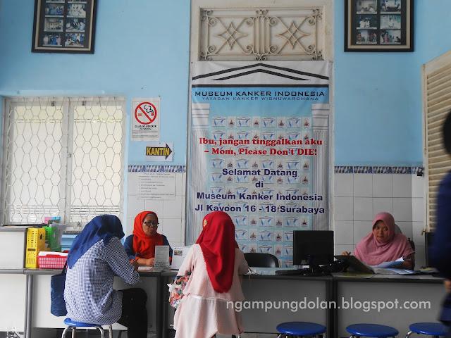 Tes Papsmear di Museum Kanker Surabaya