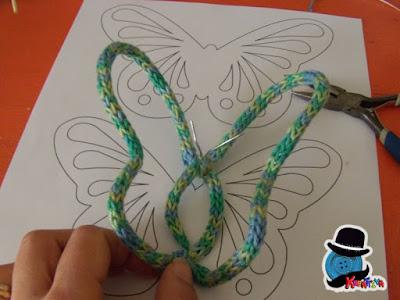 sagoma farfalla