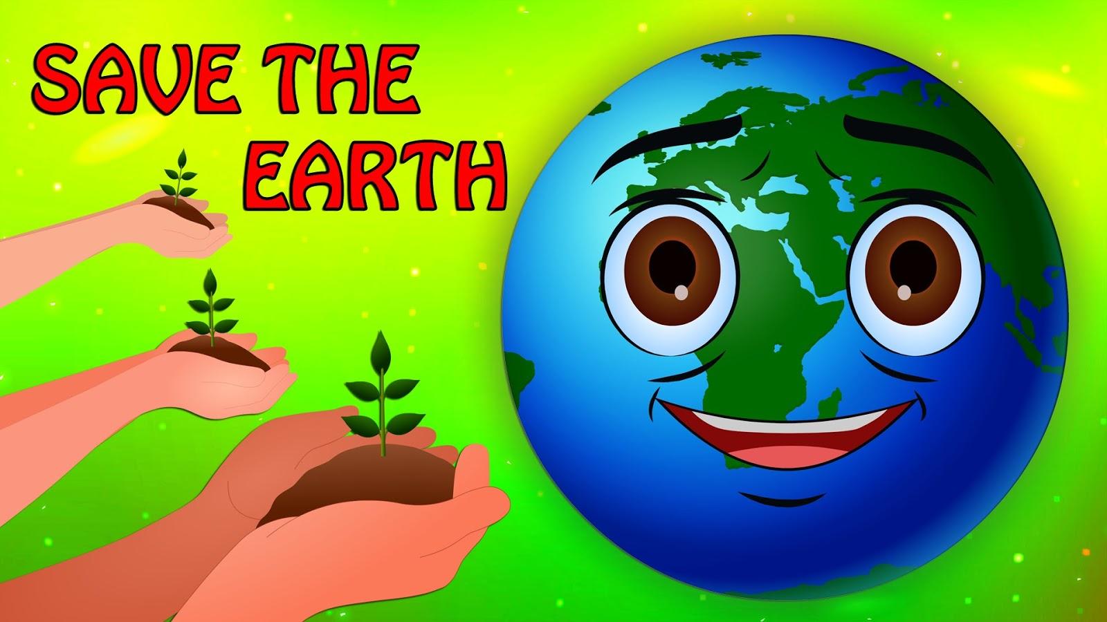 Stop Pemanasan Global Save The Earth