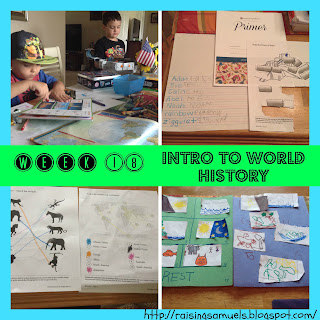 Homeschool Week 18: Intro to World History