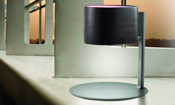 wood lamp is a wireless speaker