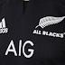 Adidas renova patrocínio da seleção de rugby da Nova Zelândia