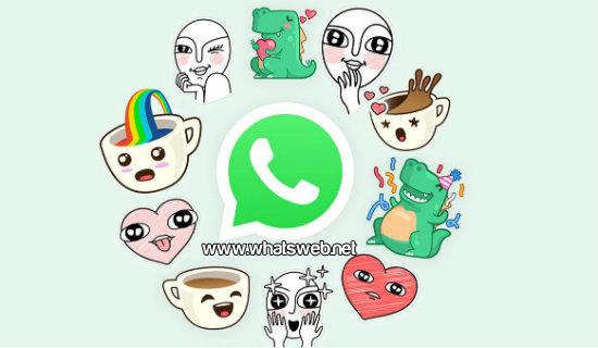 Stickers llegan a WhatsApp
