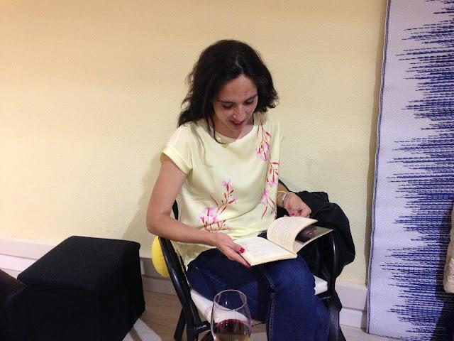 Catarina Vitorino, a dinamizadora do clube livros à sexta