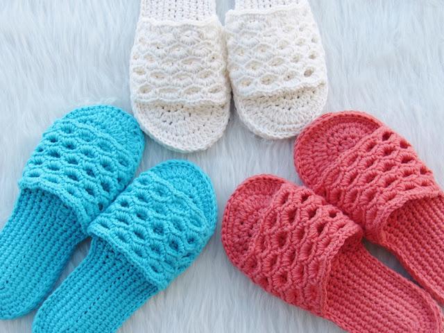 Crochet Woman's Slipper