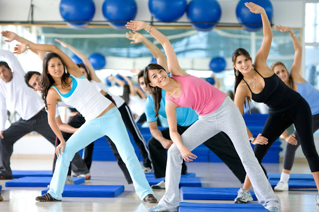 Aerobic Dance Exercise For Body Fitness