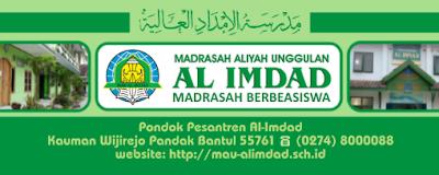 madrasah berbeasiswa al imdad pandak bantul