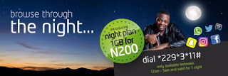 Etisalat Night Data Plan - Get 1GB For Only N200