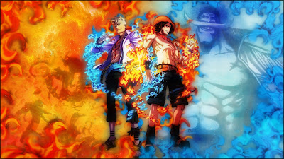 Gambar Wallpaper One Piece Ace Dan Marco