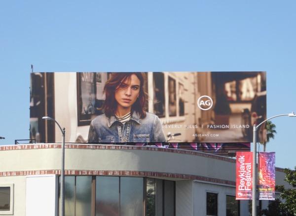 AG Jeans Spring 2017 billboard