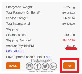 Total Second Payment SGShop