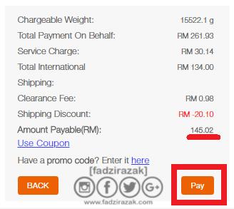 Total Second Payment SGShop