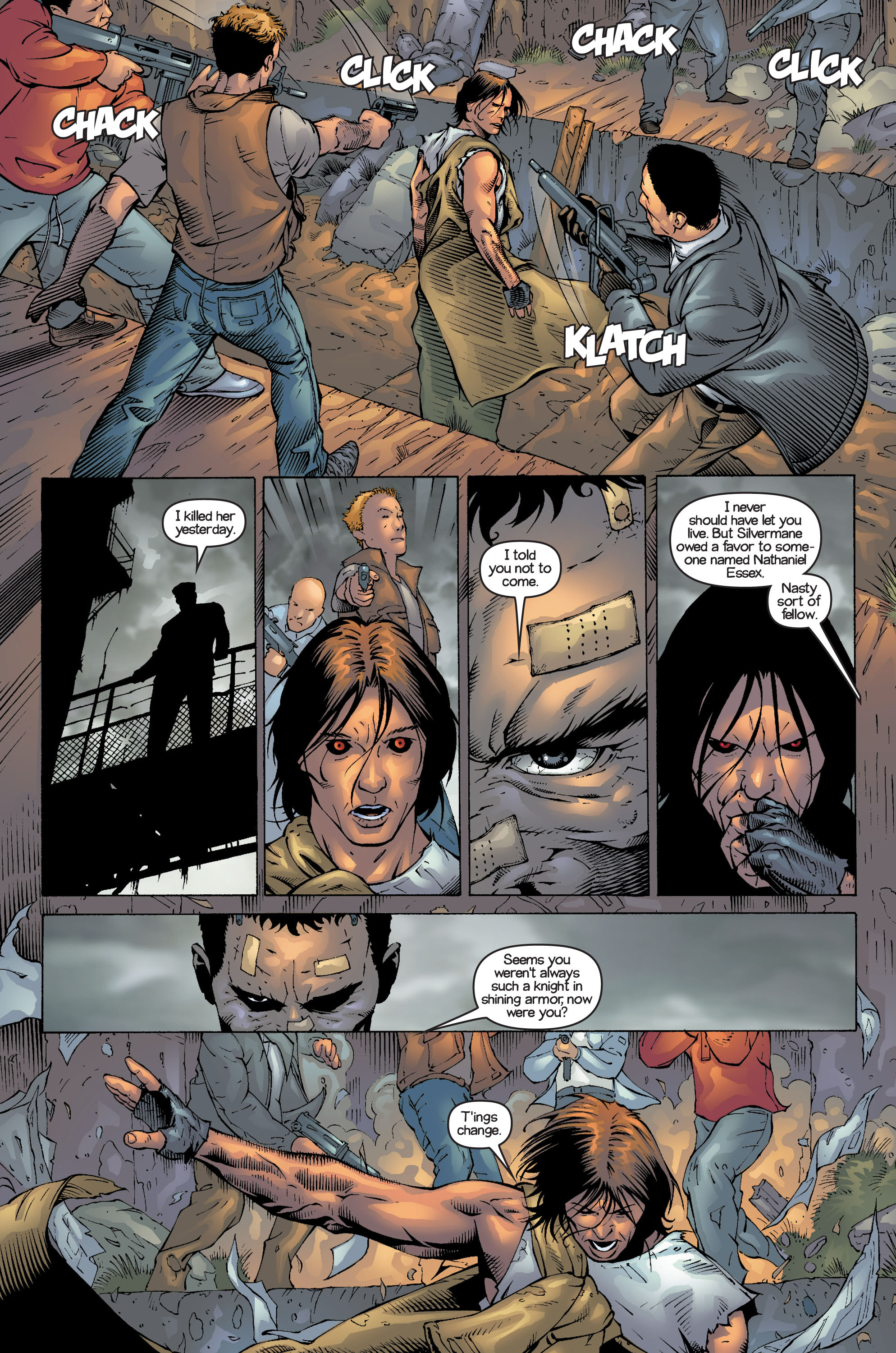 Read online Ultimate X-Men comic -  Issue #14 - 18