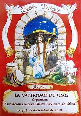 Belén Viviente de Álora (Málaga) 2016