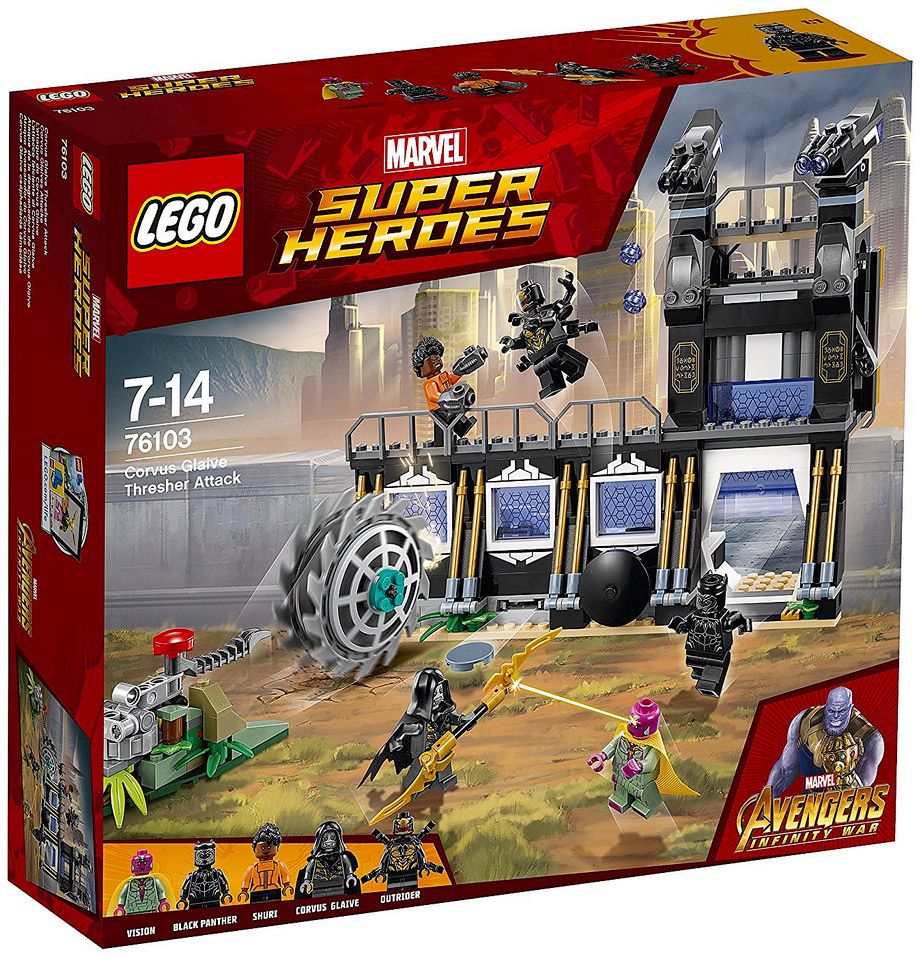 First official look at the avengers infinity war lego sets - Film lego marvel ...