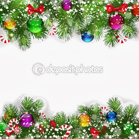 Christmas Decorated Backgrounds