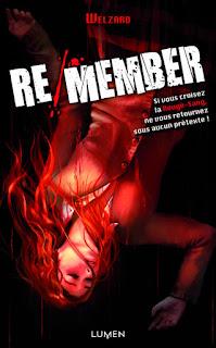 Roman Re/member de Welzard;roman;re/member;remember;karada sagashi;welzard;lumen;2013;2016;ki-oon;kioon;adaptation;manga;bdocube;bedeocube