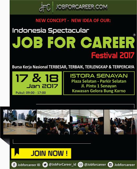 JAKARTA JOB FOR CAREER Festival 2017 Senayan Gelora Bung Karno