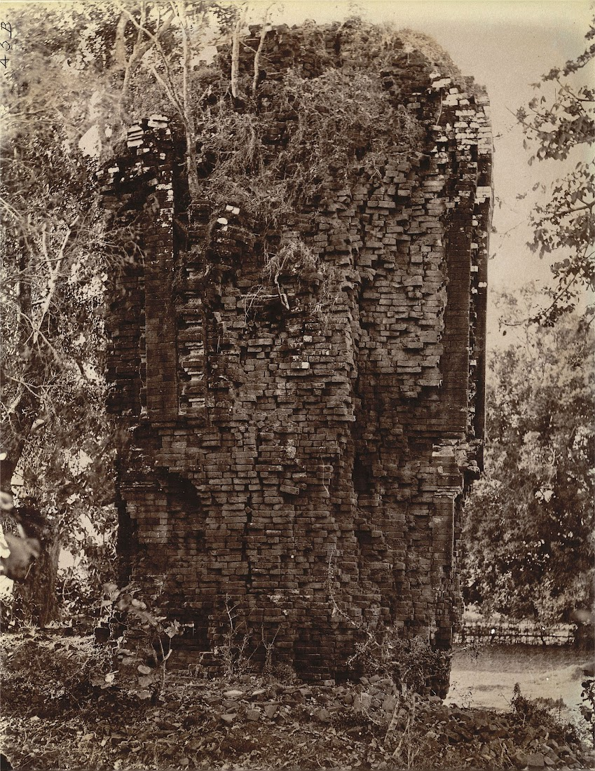 Ruins of a Brick Temple at Pakbirra Village, Manbhum District (Now in Purulia District), Bengal - 1872