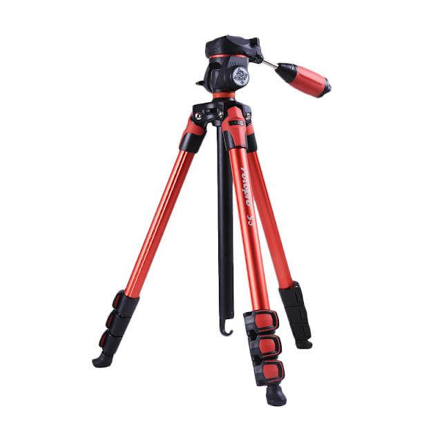 Fotopro S3 Tripod - Red