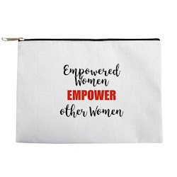 SHOP EMPOWERED WOMEN MAKE-UP BAG