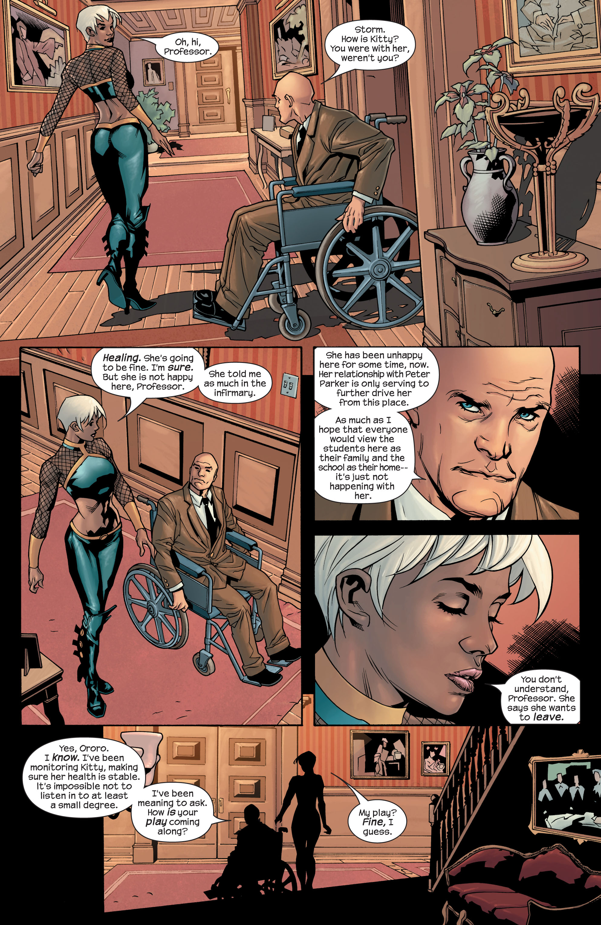 Read online Ultimate X-Men comic -  Issue #77 - 6