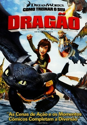 Como Treinar o seu Dragão Blu-Ray Filmes Torrent Download capa