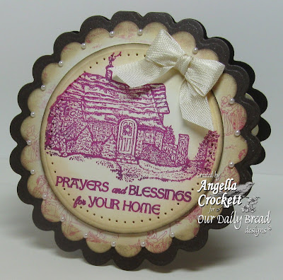 "Our Daily Bread designs ""Bless This Home"" Designer Angie Crockett"