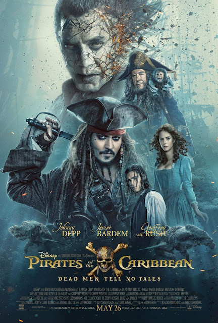 poster Pirates of the Caribbean : Dead Man Tell No Tales