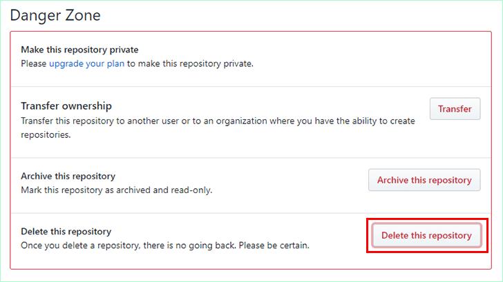 Cara Menghapus Repository di Github