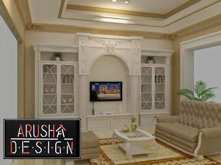 desain ruang tamu klasik interior rumah classic mewah