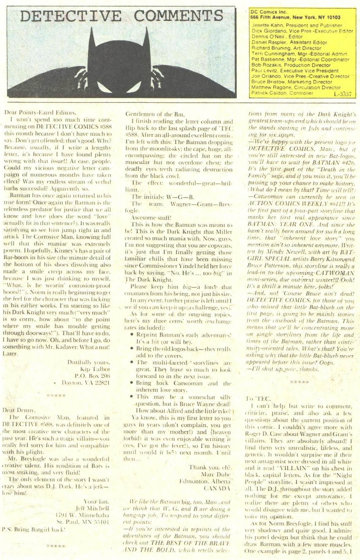 Detective Comics (1937) 591 Page 31