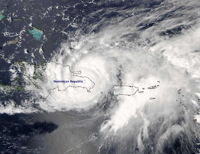 Huracanes en República Dominicana