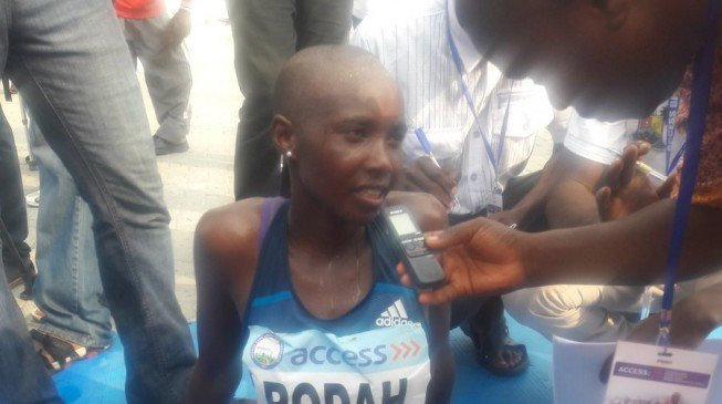 I'd love to marry a Nigerian man, says winner of Lagos marathon