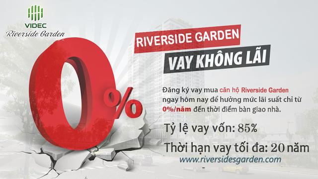 Chính sách ngân hàng chung cư Riverside Garden Hà Nội