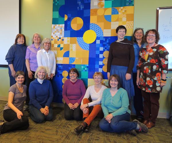 Boulder Modern Quilt Guild, QuiltCon charity quilt