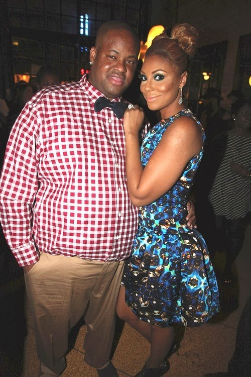Tamar Braxton's Husband Vince Herbert Hospitalized + Baby Logan's 1st Christmas... Too Cute!