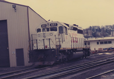 Kansas City Southern SD40-2 657