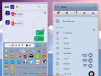 Download BBM Mod CHAT ME - Theme IyoS2an V3.3.8.74 Apk Terbaru