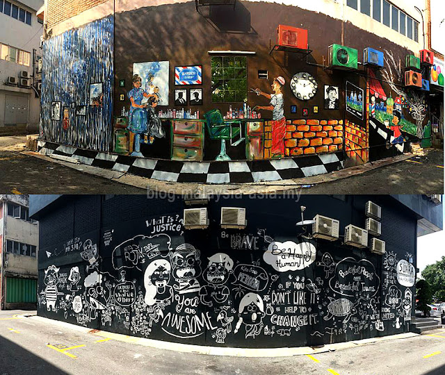 SS2 Street Art Paintings